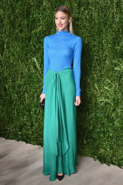 Model Martha Hunt attends 13th Annual CFDA/Vogue Fashion Fund Awards at Spring Studios on November 7, 2016 in New York City.
