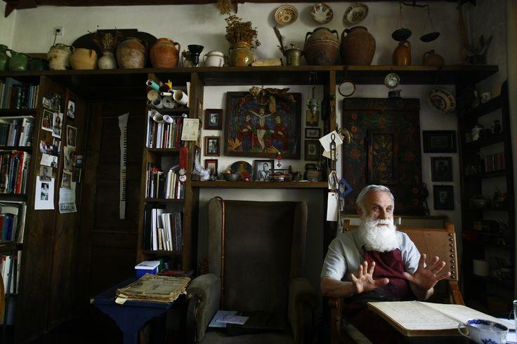 """INTERVIU Ştefan Câlţia, pictor: """"La colhoz, am fost prima dată fericit că am furat"""""""