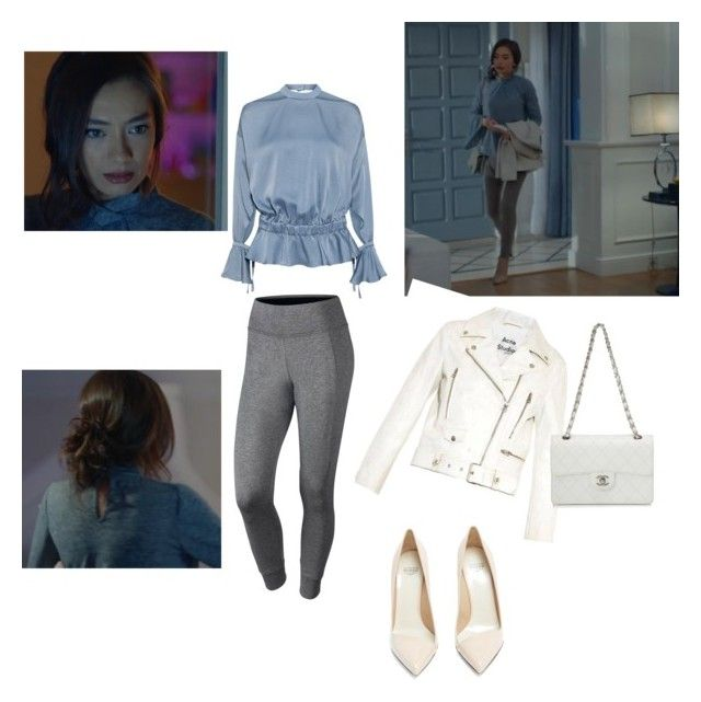 """""""Untitled #57"""" by maysali on Polyvore featuring Marissa Webb, Acne Studios, Chanel, Francesco Russo and NIKE"""