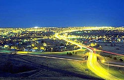 Great Falls, Montana  is home to Malmstrom Air Force Base and the 341st Missile Wing.