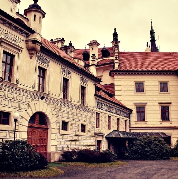 #Pruhonice #park #Botany #Czech #castle