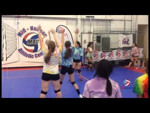 A warm-up drill from USA Volleyball that is great for serving, receiving…