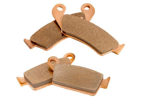 2000 2001 2002 2003 2004 Honda XR650R Front And Rear Severe Duty Brake Pads