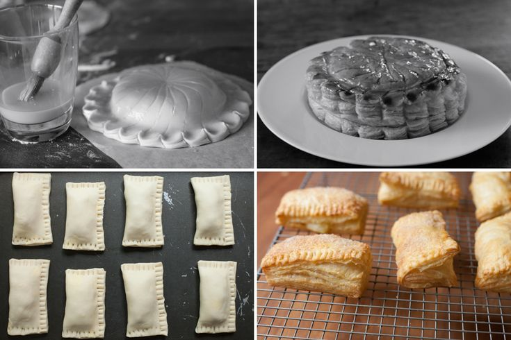 Poires au Chocolat: Rough Puff Pastry - about 75% of the rise of puff pastry for less than half of the work