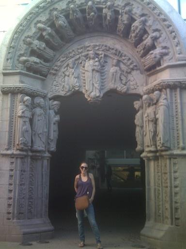entrada del centro cultural, Santiago del Estero, Argentina