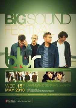 BIG SOUND FESTIVAL at Lapangan D Senayan (Jakarta) on 15 May 2013 – Last.fm