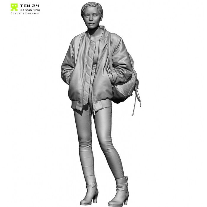 Colour Female 07 Pose 01 #3d scan #nimeshbaidhya
