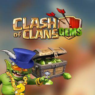 Trik mendapatkan Gratis 1200 Gems Clash Of Clans COC Terbaru resmi dan aman tanpa banned. cara isi gems coc gratis