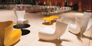 CAPPELLINI Felt chair by Marc Newson @Palazzo delle Esposizioni, Roma