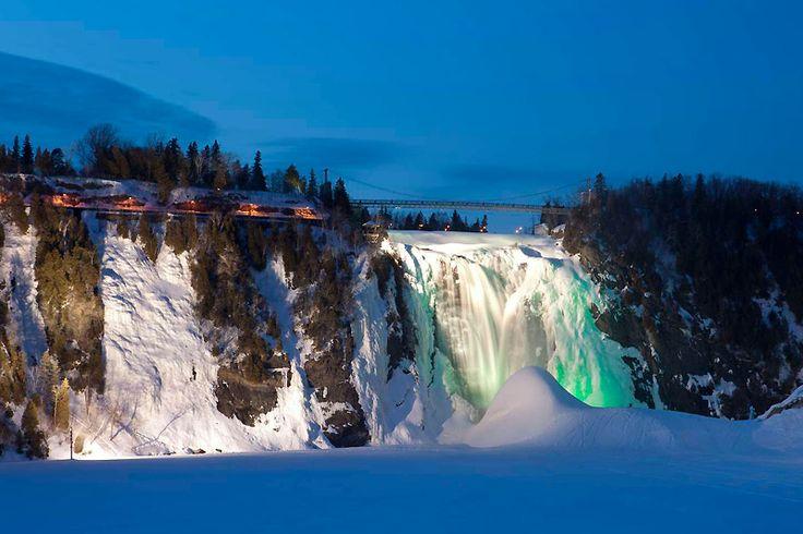 Parc de la Chute-Montmorency - Centres touristiques - Sépaq-L'Hiver