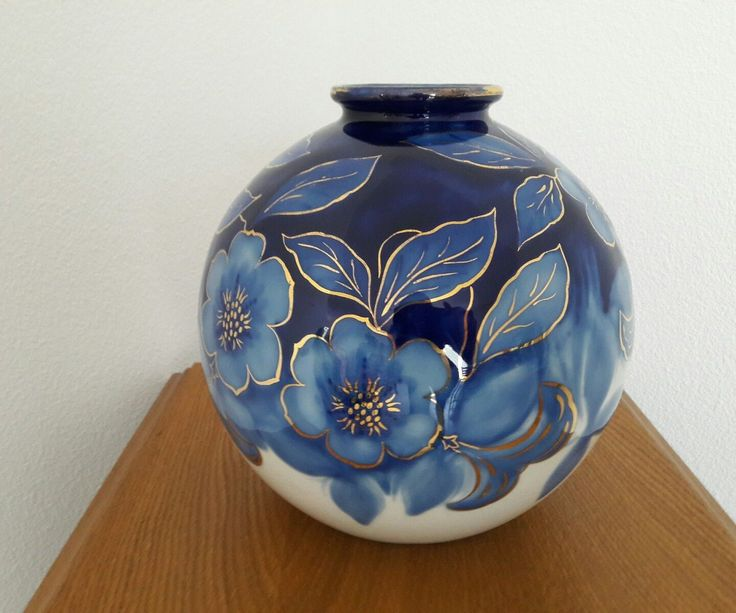 Vase boule signé CAMILLE THARAUD porcelaine de Limoge France FOR SALE • EUR 319,00 • See Photos! Money Back Guarantee. Vase boule Camille tharaud Limoge très ancien Décor fleur bleu contour or peint a la main Hauteur 22cmTres bon état Pour collectionneur ou amateur d arts Paiement par chèque uniquement 182536112651