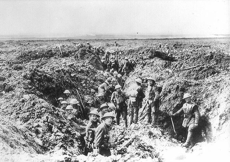 Canadians on Vimy Ridge by Unknown Artist