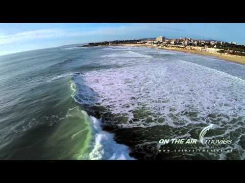Legendary Surf Spot: Carcavelos Beach in Portugal - via SurfHolidays 20-12-2016 | Carcavlos beach is 17 km South West of Lisbon city centre and is one of the best known and loved beach breaks in Portugal. This surf spot is unique in Europe as it is essentially a city beach break, it can easily be accessed by public transport from Lisbon city centre and also is the starting point to the Cascais coastline to the west.