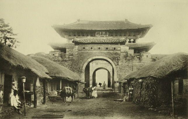 Changan Gate, Suwon, Korea 수원 화성, 장안문