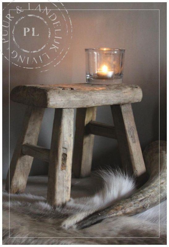 Oude / houten / KINDERKRUKJES | ☆ New Arrivals / Nieuwe collectie ☆ | Puur Landelijk Living