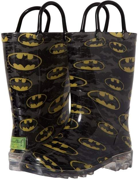Western Chief Kids - Batman Signal Night Lighted Boys Shoes