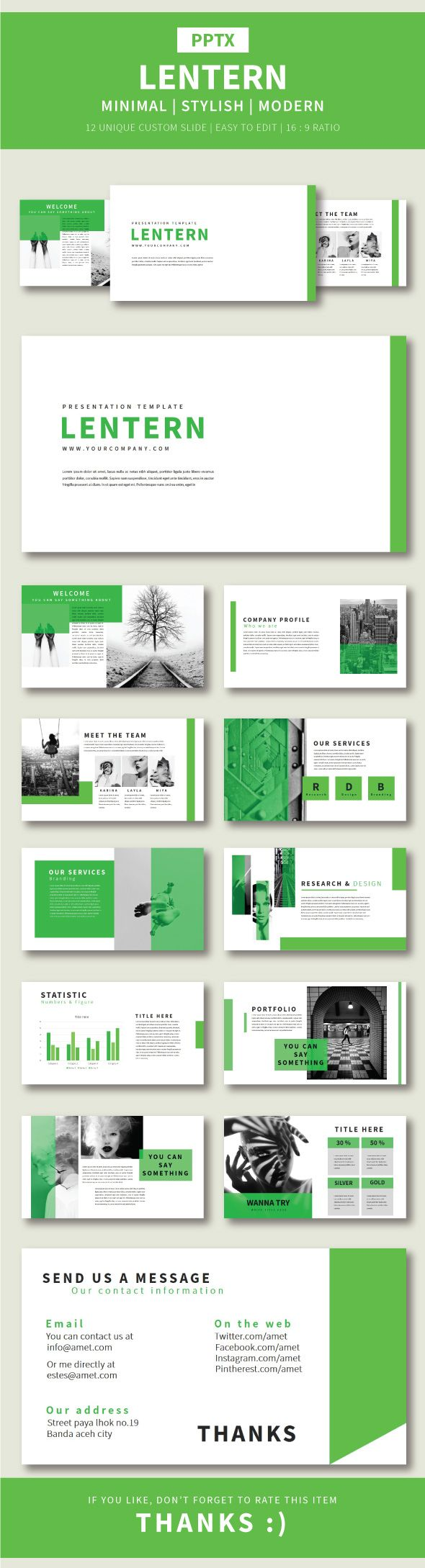 The Best Graphic Design Presentation Designs Images On - Fresh facebook template powerpoint ideas