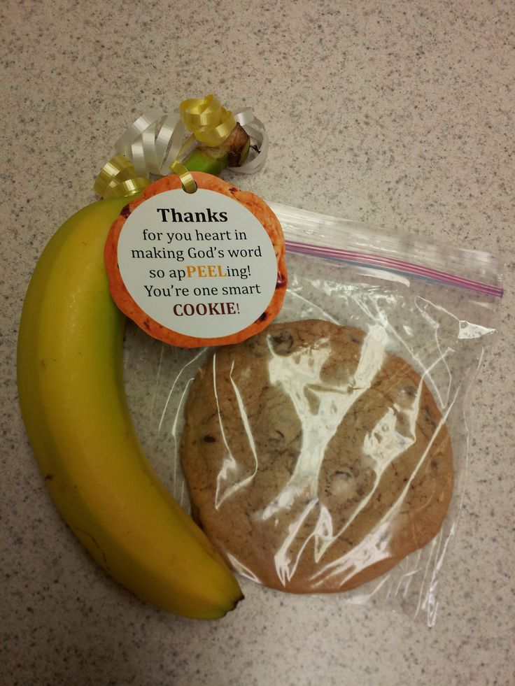 Pastor Appreciation - Thanks for your heart in making God's word so apPEELing! You're one smart COOKIE!