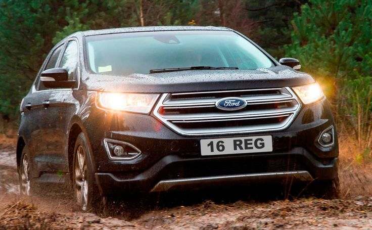 All-New Ford Edge Join the Crowd