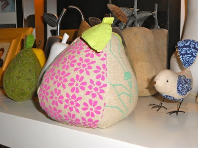 fabric pear