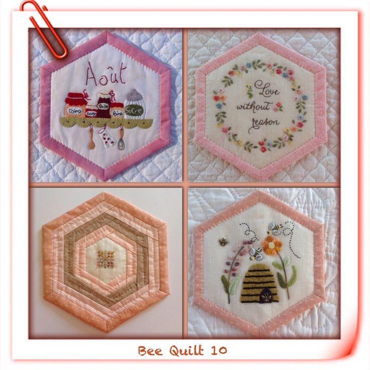 Bee Quilt 10