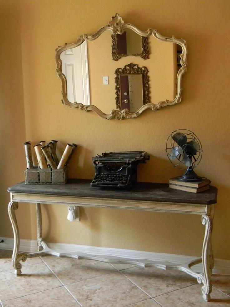 Black Sofa Table best 25+ sofa table redo ideas on pinterest   farmhouse table