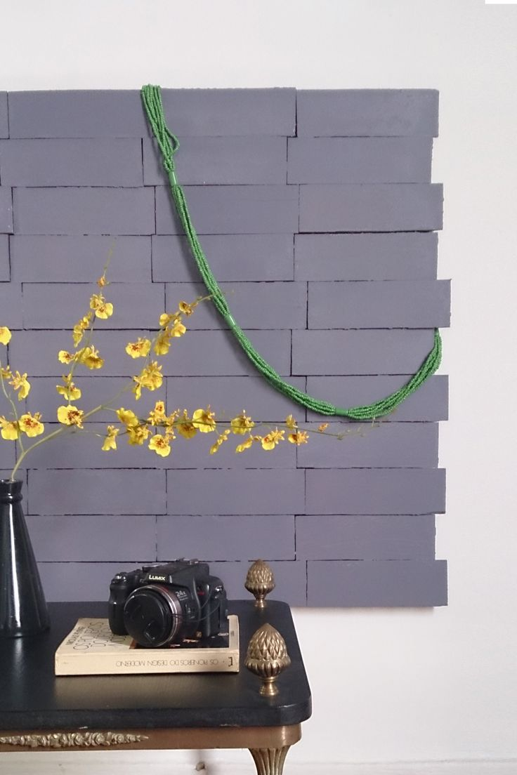 Painel de tacos - Obra limpa na decoração - por Erika Karpuk - para Revista OcaPop (1a edição)