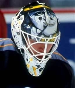 Best NHL Goalie Masks of the '90s - Ken Wregget   Penguin from Batman Returns