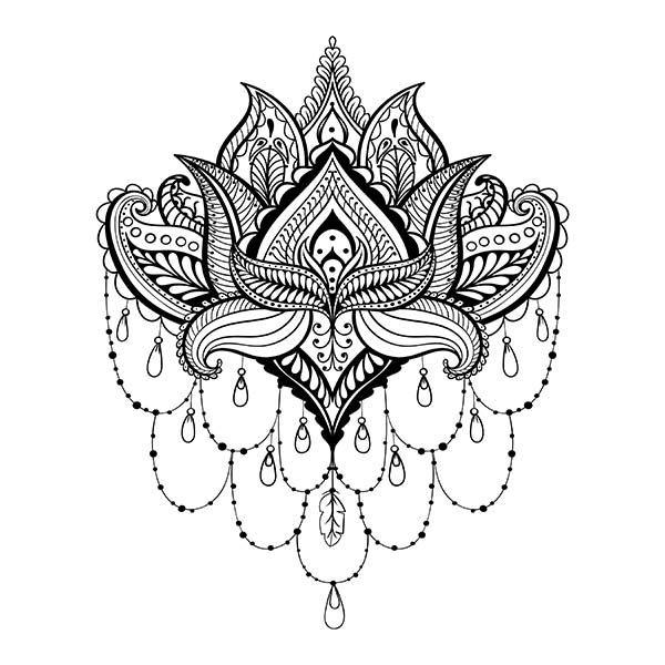 Anleitung: Henna Tattoo selber machen inkl. Muster/Motive – WOMZ