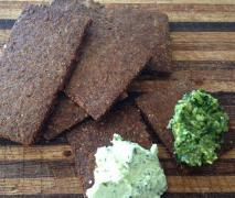 Flax Seed & Almond Meal Crackers