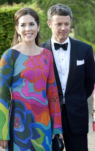 Crown Prince Frederik and Crown Princess Mary of Denmark May 2012