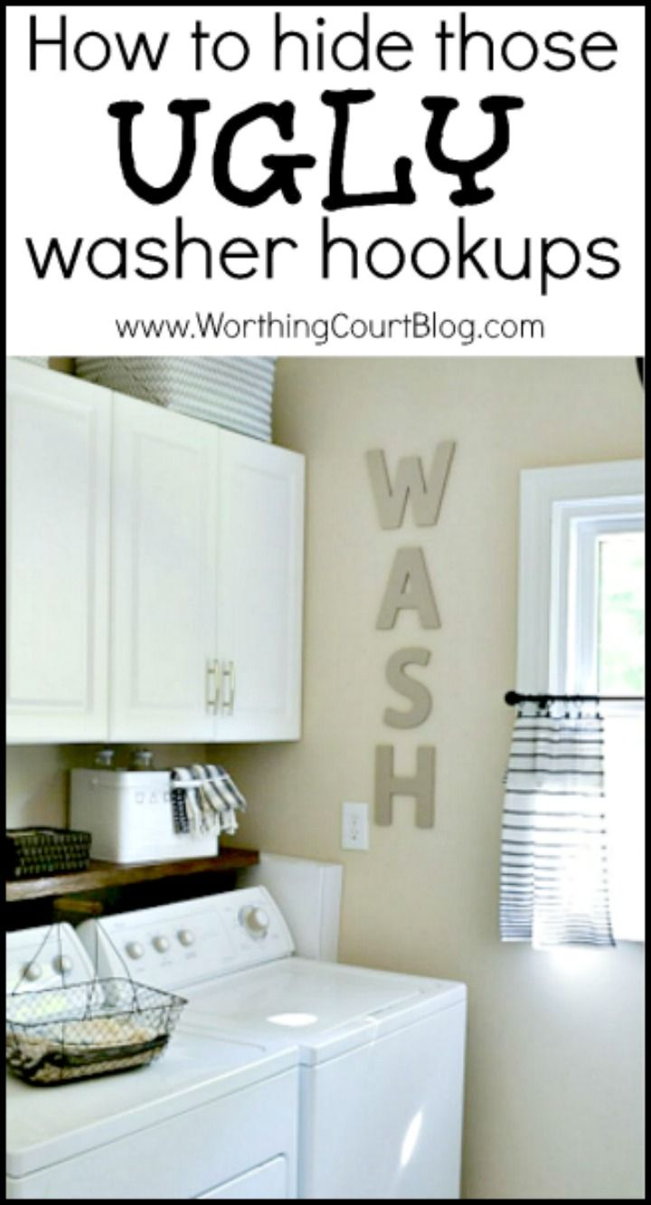How To Hide Washer And Dryer 1000 Images About Home On