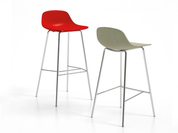 High stool with footrest PURE LOOP | Stool - Infiniti by OMP Group