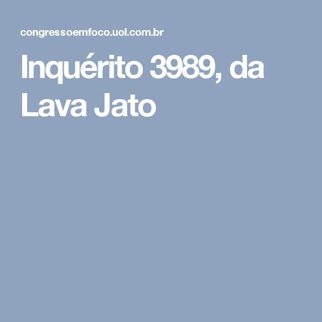 O atual segundo-vice-presidente do Senado é alvo de quatro investigações no STF. No Inquérito 3989, da Lava Jato, Jucá responde pelos crimes de lavagem de dinheiro, formação de quadrilha e corrupção passiva.