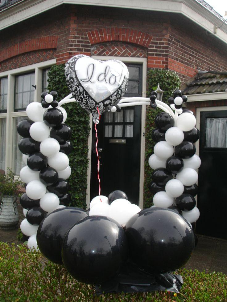 Decoratie bruiloft zoet & leuk