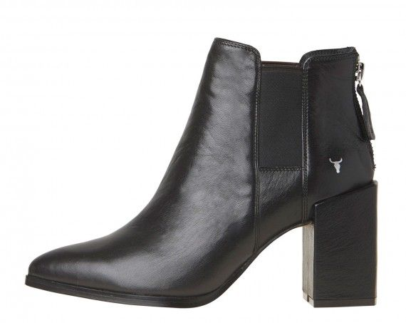 Windsor Smith - Executive Black Leather Boot