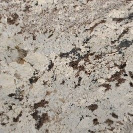 Alaska White Granite countertops--like this one; want grey and browns with lighter color.