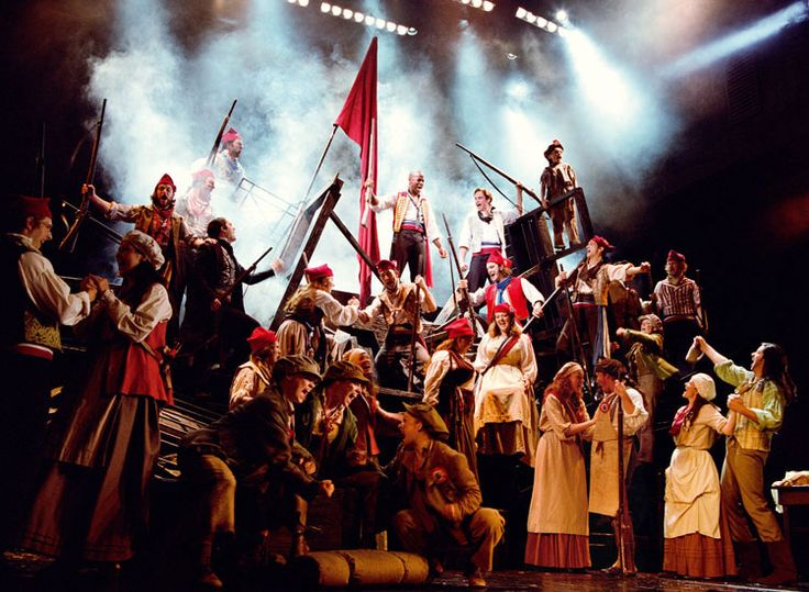 Les Miserables. After thirty years it's still the best.