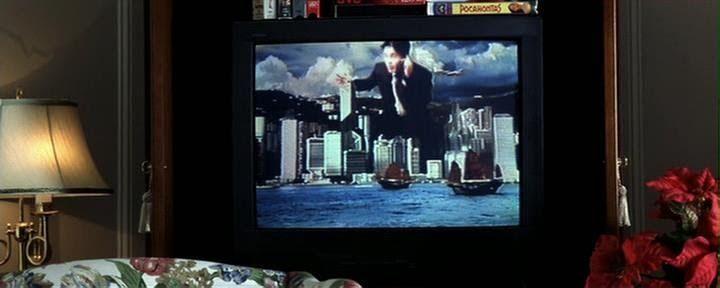 """Реклама из фильма """"Враг государства""""(1998) об 11сентябре 2001г."""