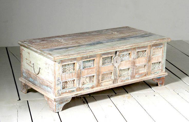 whiteleaf trunk box coffee table by little tree furniture | notonthehighstreet.com