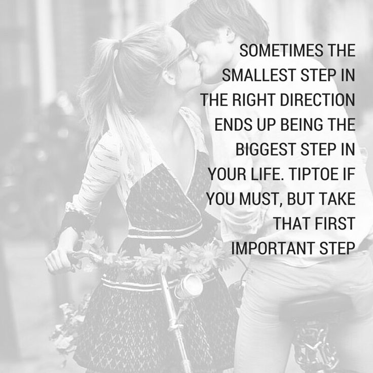 Take that step TOWARDS your dream ♡
