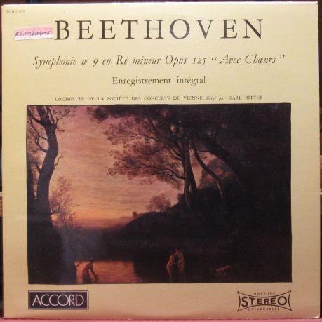 Beethoven - Symphonie No. 9-Orchestre de la Société des Concerts de Vienne (1981)