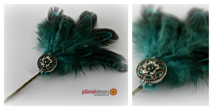 Minitocado Verde, ideal para dar un toque de color a tu peinado.