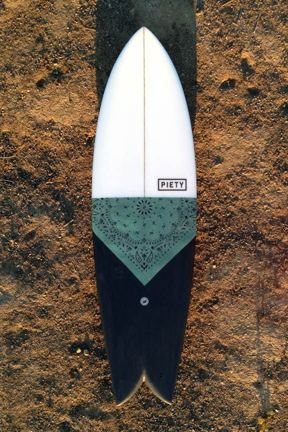 I want to be a cowboy – SIA twin fin - PIETY Surfboards -
