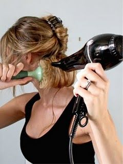 how to correctly blow dry your hair. More of us should know this AND this blog is fab.