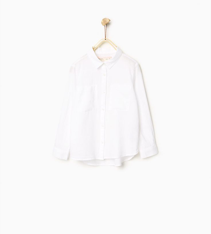 Bilde 1 fra Enkel skjorte fra Zara