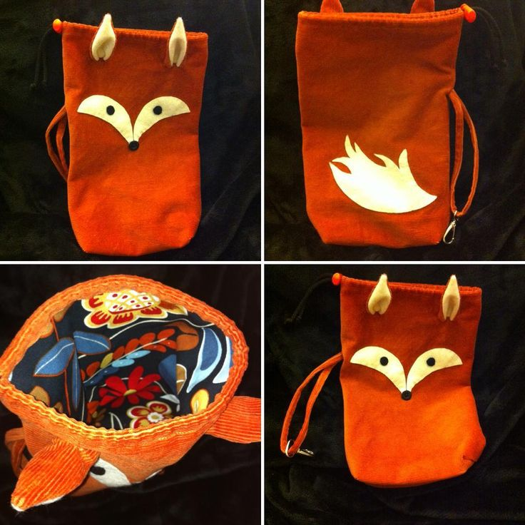 Fox bag :) Ildarose - Follow me on Facebook and Instagram