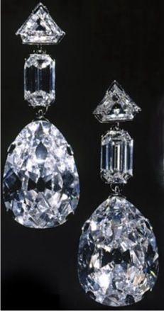 Mastery of Design: Queen Elizabeth's Cartier Diamond Earrings.