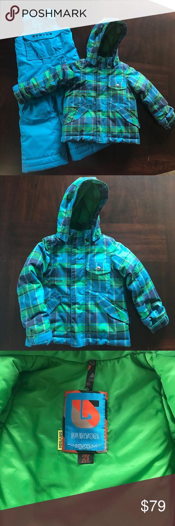 Burton ski jacket and snow pants Like new condition Burton ski jacket and matching snow pants. There are no rips, tears and stains. Smoke free home! Burton Matching Sets