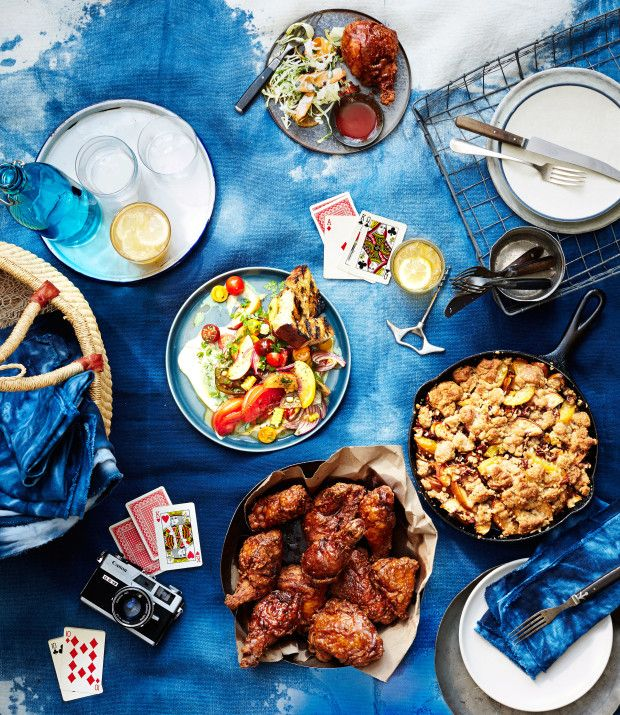 Stars and Stripes and Fried Chicken: Our Ultimate July 4th Picnic Menu from bon appetit